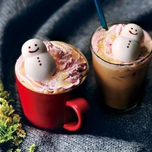 今年も登場!雪だるまがキュートな「タリーズスノーマンラテ」が1月10日発売