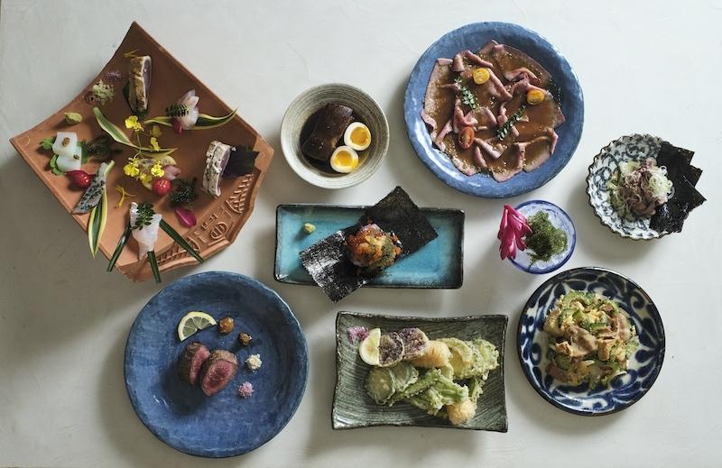 八重山諸島の名物料理が集結
