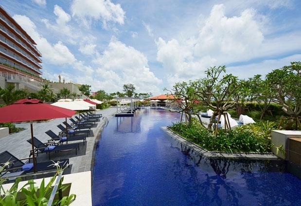 プール完備のおすすめホテル④ヒルトン沖縄北谷リゾート