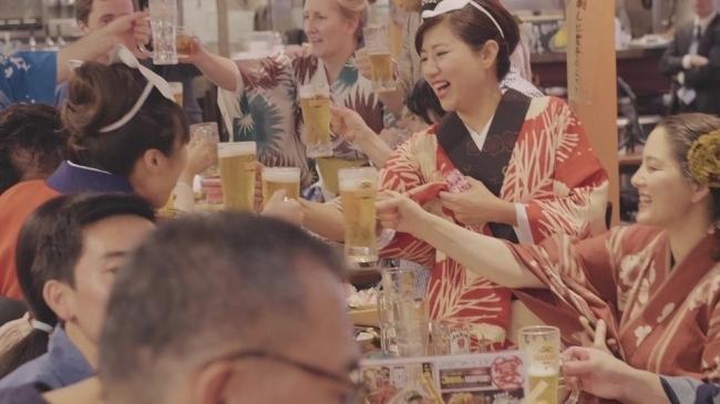 日本ならではの食も楽しめる