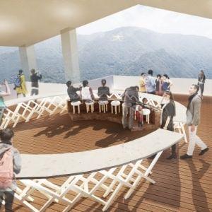 【箱根】早雲山駅舎をリニューアルした新スポット「cu―mo箱根」が6月24日にオープン!その0