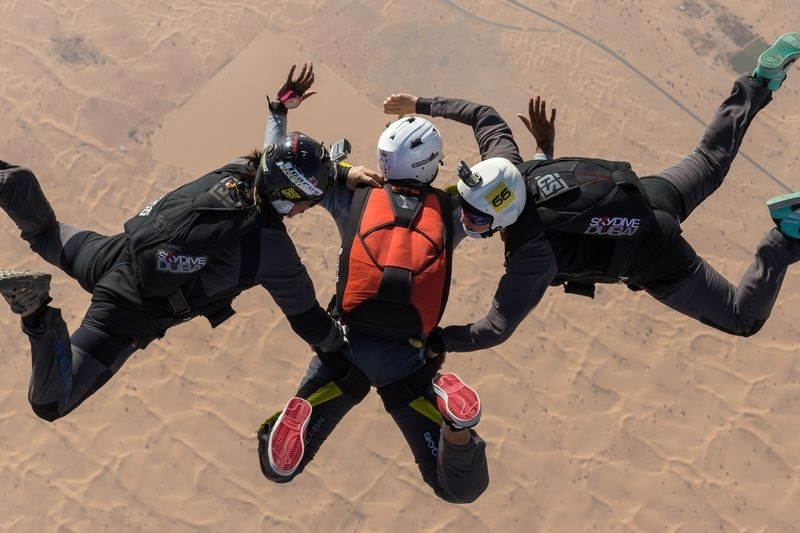 絶対行きたくなる!ドバイで女子旅におすすめのスポット⑤スカイダイブ ドバイ(Skydive Dubai)