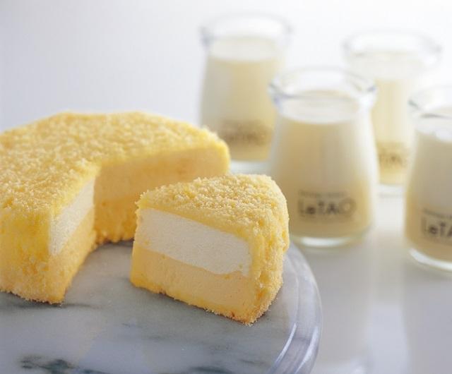 雪のような口どけのチーズケーキ