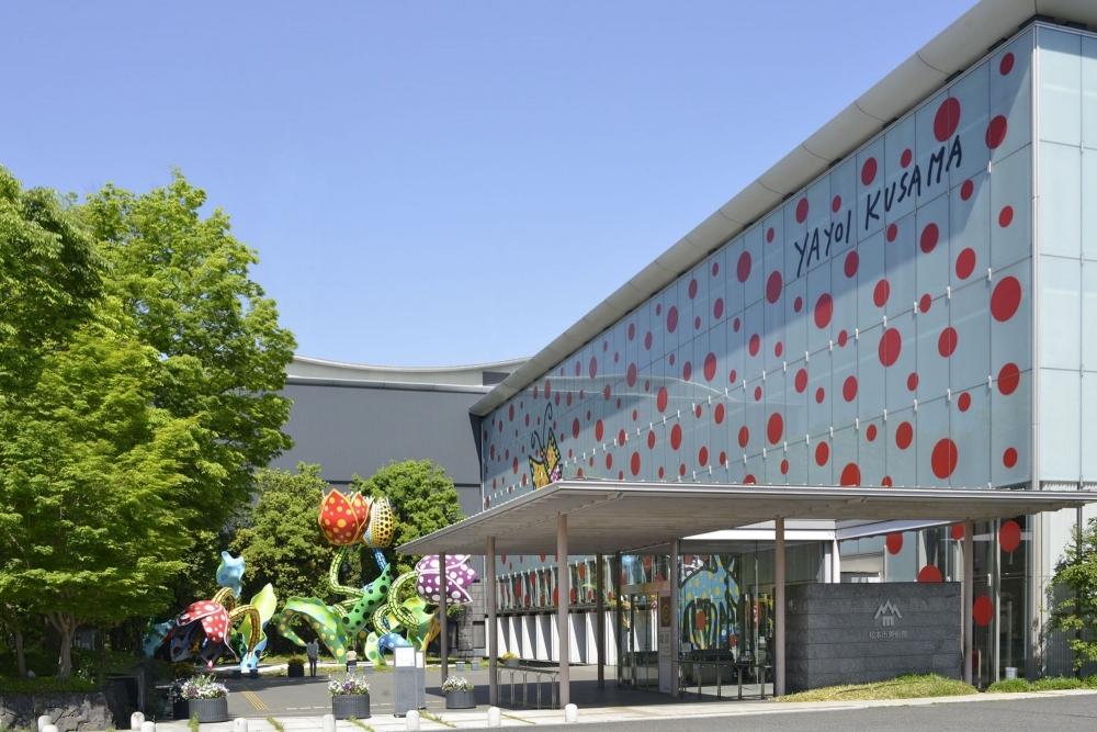 松本市美術館で草間彌生氏のアートを堪能