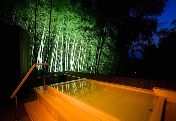 香川県・こんぴら温泉の旅館「琴平花壇」の魅力①露天風呂「吉祥の湯」