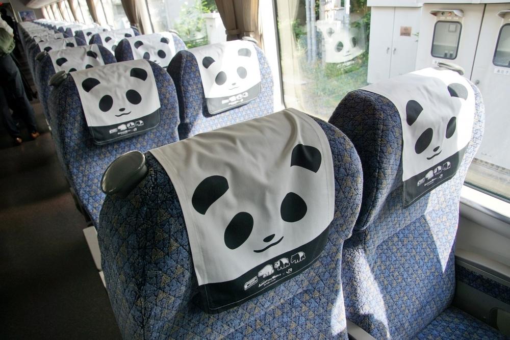パンダが走る!? アドベンチャーワールド40周年を記念したパンダ列車とはその2