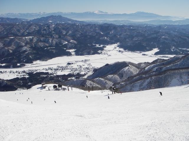 白馬五滝スキー場のゲレンデの概要
