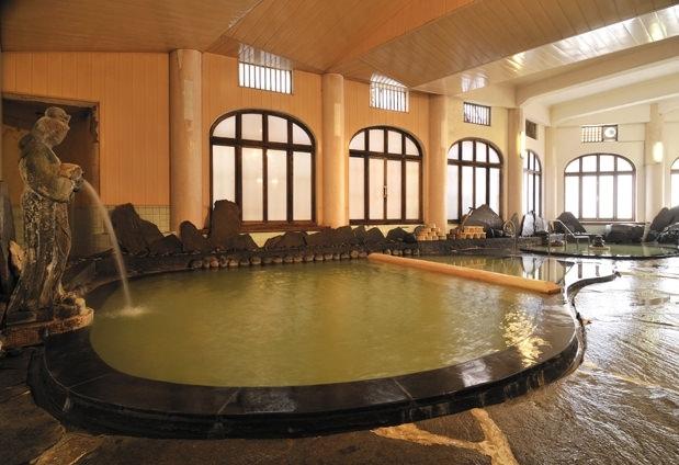 野沢温泉「常磐屋旅館」の魅力①千人風呂