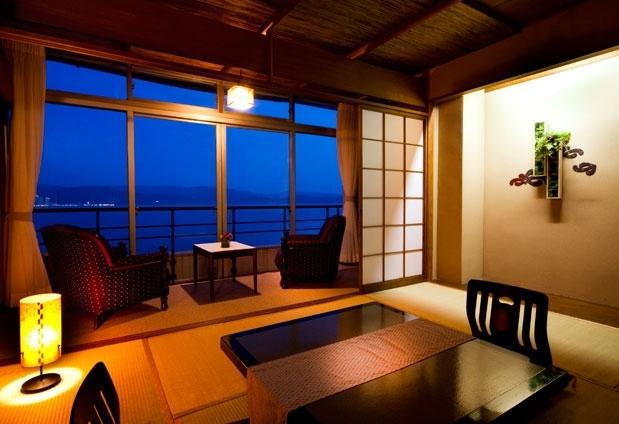 和歌山県のホテル「和歌の浦温泉 萬波 MANPA RESORT」の魅力①全室オーシャンビュー