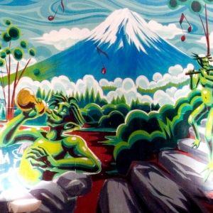 【東京】作者・Gravityfreeの解説つき! 470円で入浴・鑑賞できる現代銭湯アート5選