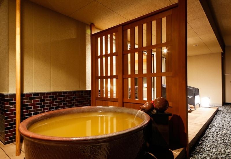 露天風呂付き客室あり