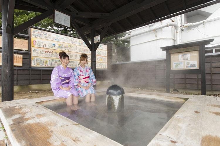 浴衣で湯巡りしたい温泉城下町