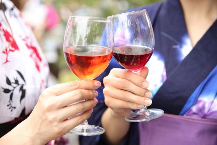 ブドウの質がいいからワインも美酒揃い!