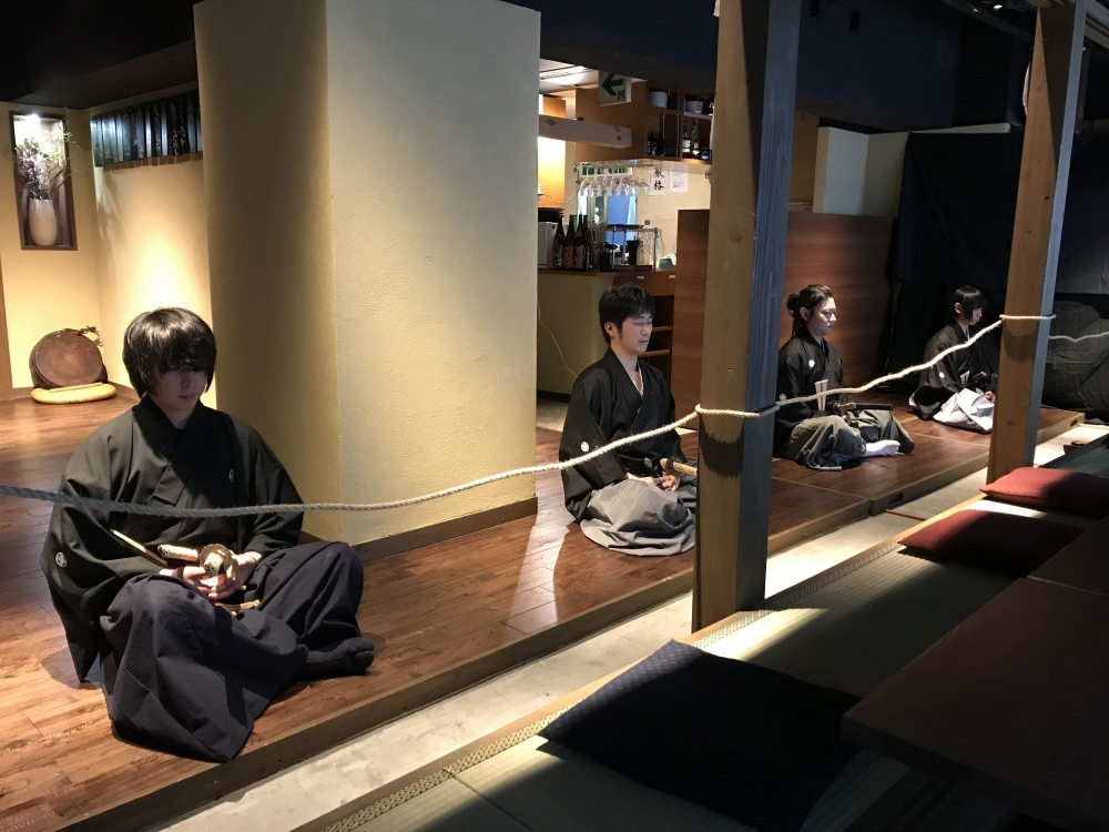 侍文化を渋谷で体験!古武術「天心流兵法」の剣術を間近で体感できるスポットが登場その2