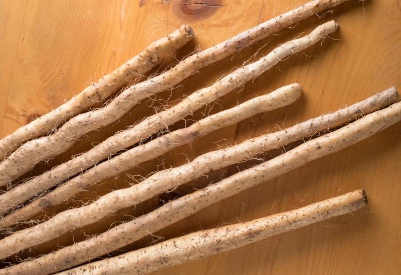 山薬と呼ばれてきた自然薯