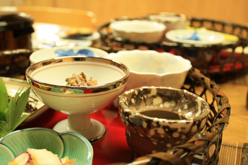 一日のはじまりを元気にする朝食にも地元の食材を使用