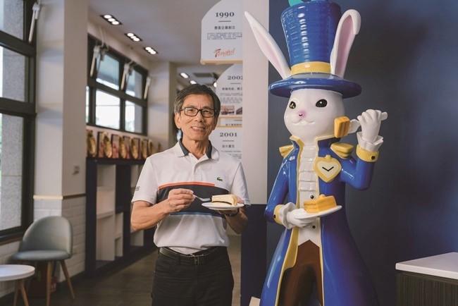 大使館のキャラクター・ウサギ公爵がそこここに。