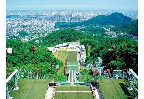 「大倉山ジャンプ競技場」を観光