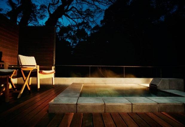 「arcana izu」の魅力②全客室に源泉掛け流しの露天風呂