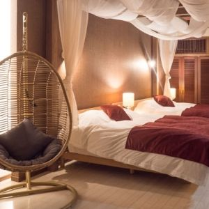 アジアン、モダン、別荘風…。全客室離れのリゾートホテルで快適ステイ