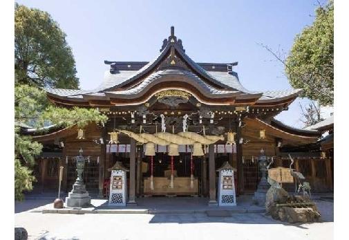 博多の総鎮守として親しまれている「櫛田神社」