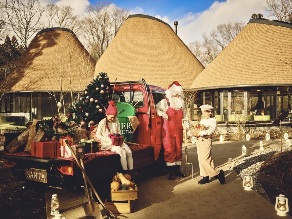 サンタと一緒に農業体験? リゾナーレ那須の「農家サンタのアグリクリスマス」