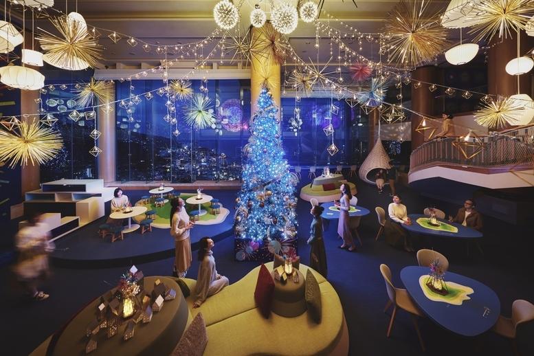 目でも口でも楽しめる!リゾナーレ熱海の「花火クリスマス」
