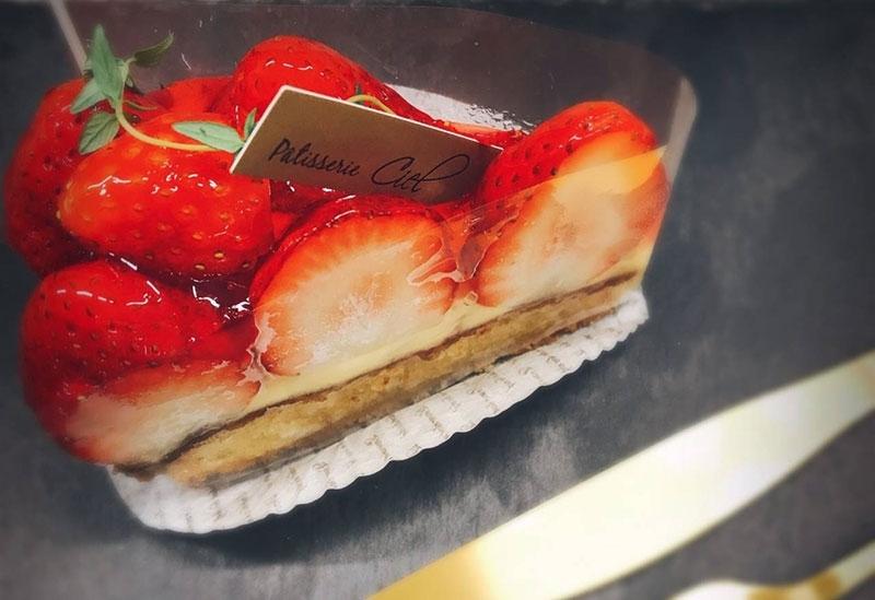 ケーキの人気No.1商品「いちごタルト」