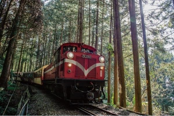 日の出の時間に合わせて運行する鉄道で、ご来光スポットへ。