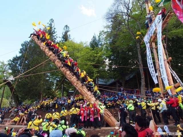 7年に1度開催される天下の大祭! 「御柱祭」(長野)