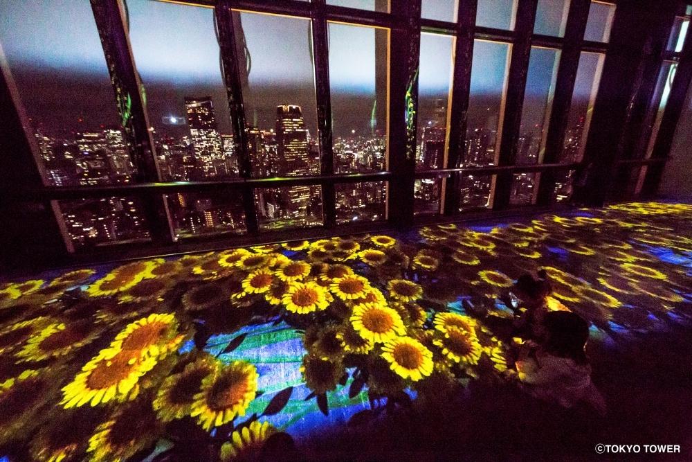 9月17日まで!「東京タワー」でネイキッドが手掛ける新しい夜景×花火体験をその2