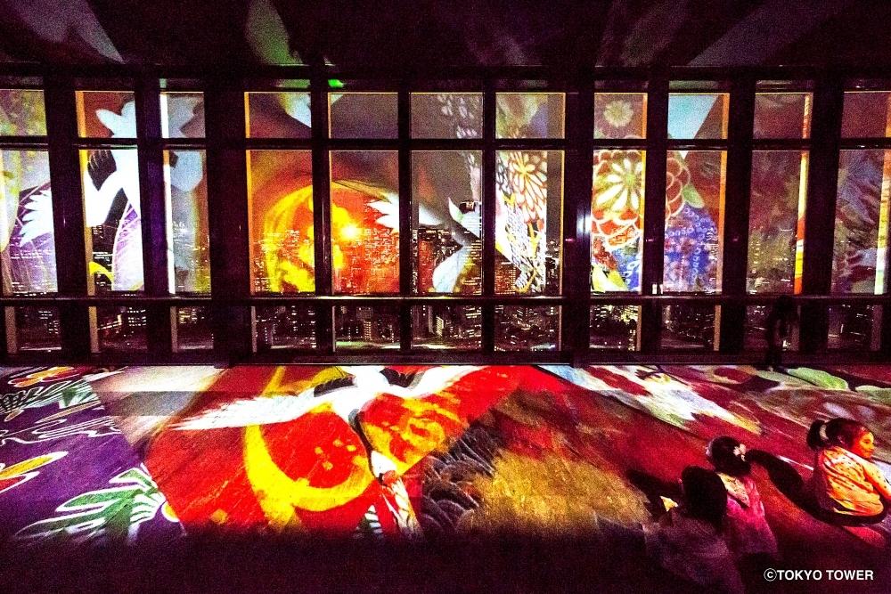 9月17日まで!「東京タワー」でネイキッドが手掛ける新しい夜景×花火体験をその3