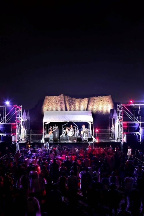 世界遺産で開催される「GUSUKU ROCK FES'17」