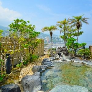 絶景の露天風呂!サービスいっぱい熱海温泉「ホテル・サンミ倶楽部」
