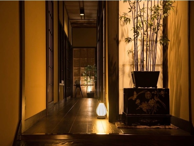 日本の伝統美にあふれた空間と、女性目線のサービスでゲストをおもてなし