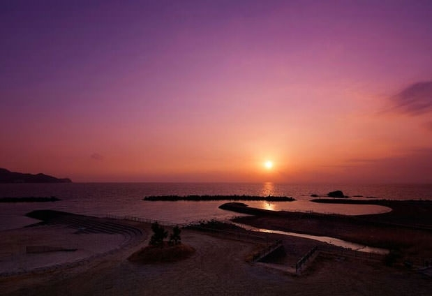 静岡県の旅館「茜の海 あるじ栖」の魅力▶絶景の露天風呂