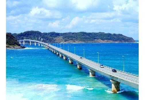 撮影場所の「山口県 角島大橋」とは?