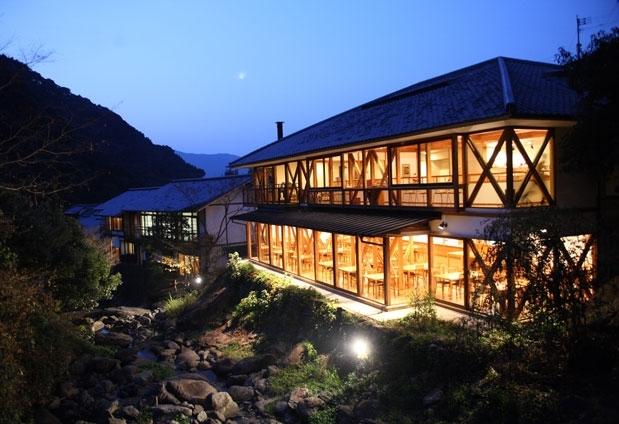嬉野温泉の宿①椎葉山荘