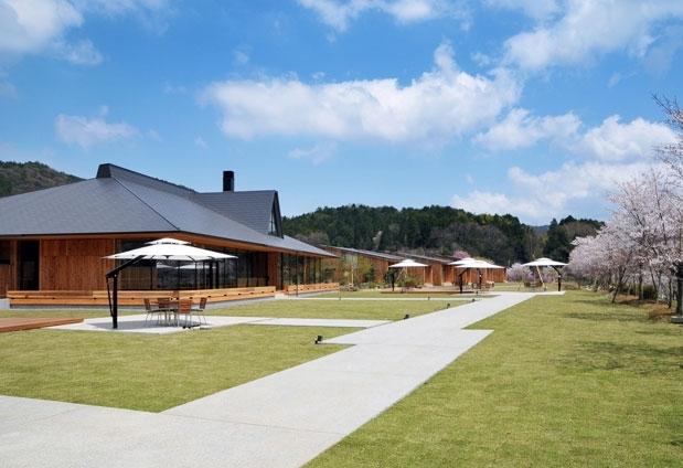 和歌山県「山荘 天の里」の魅力1:山の中のコテージ