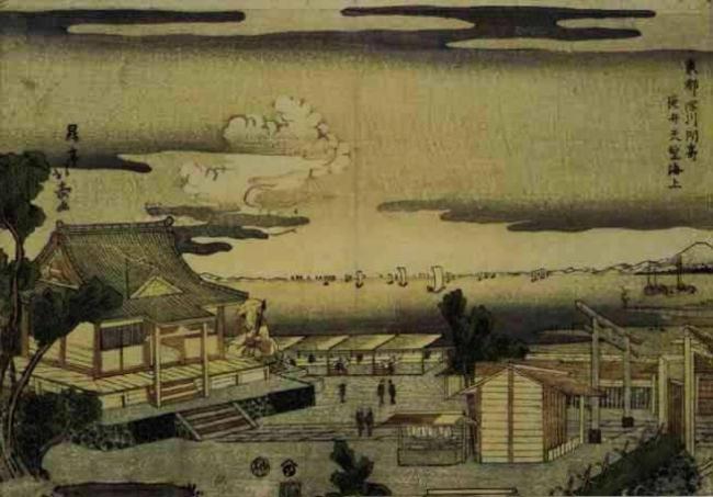 永井荷風と東京の風景 @江戸東京博物館