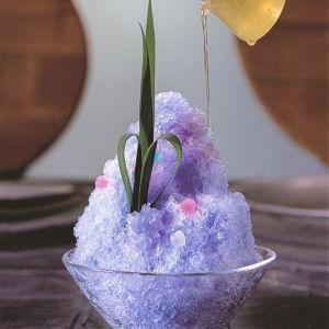 京町家カフェ「然花抄院」の色が変わる!?不思議なかき氷