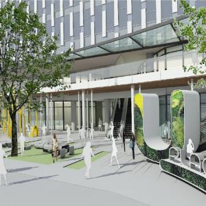 川越駅西口に新ランドマーク「U_PLACE」が誕生! 6月8日より順次開業決定