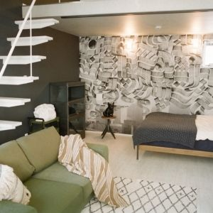 24時間滞在できるアートギャラリー。「ジャーナルスタンダードファニチャー」とコラボした宿泊施設が開業