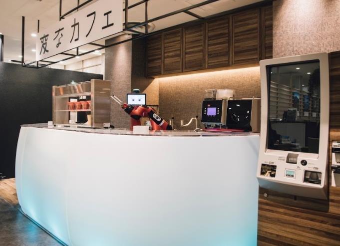 ロボットがコーヒーを淹れてくれる「変なカフェ」が2月1日渋谷にオープン!その3
