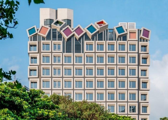 アートの街をクールに彩るデザイナーズホテル
