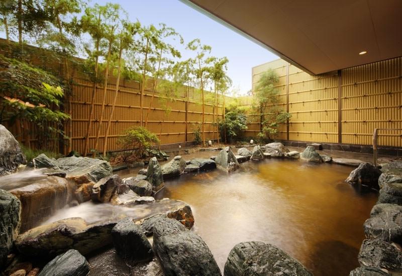 全国的にも珍しい温泉を堪能