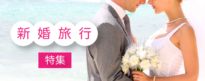 新婚旅行特集♡